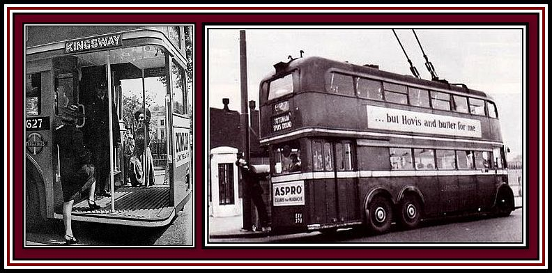 1379 Trolleybus Collage