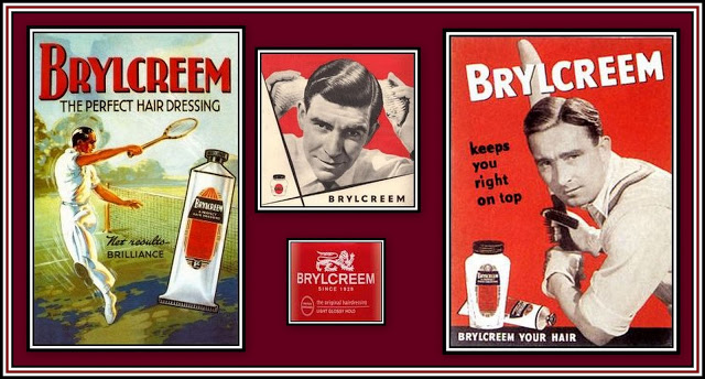 Brylcreem Collage
