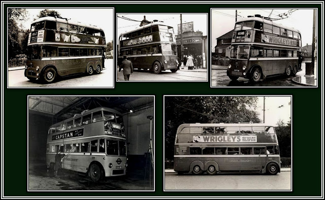C & B Trolleys Collage