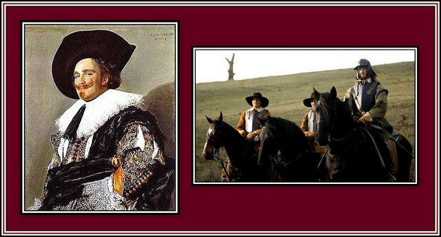 Cavlalier & Roundheads Collage