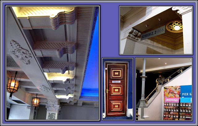 Ceiling, stairs & Door Collage
