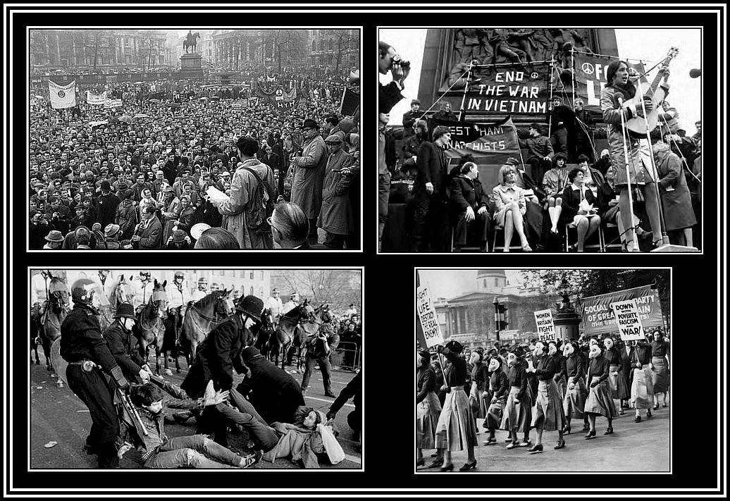 Demonstrations Collage