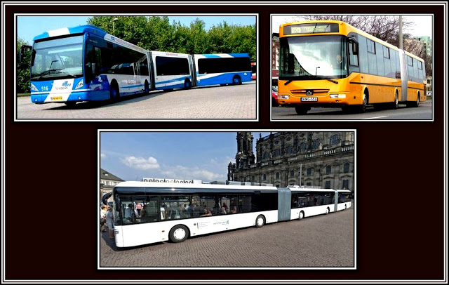 European Bendy Buses