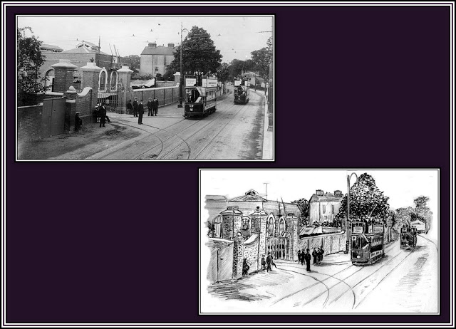 Hounslow Tram Depot Collage