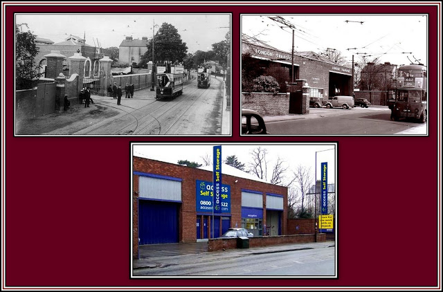 Isleworth Depot - Access Collage
