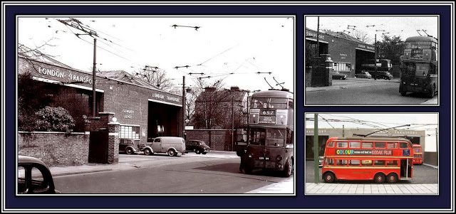 Isleworth Depot Trolley Collage