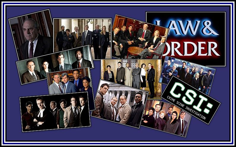 LAW & ORDER and CSI CASTS OVER THE YEARS