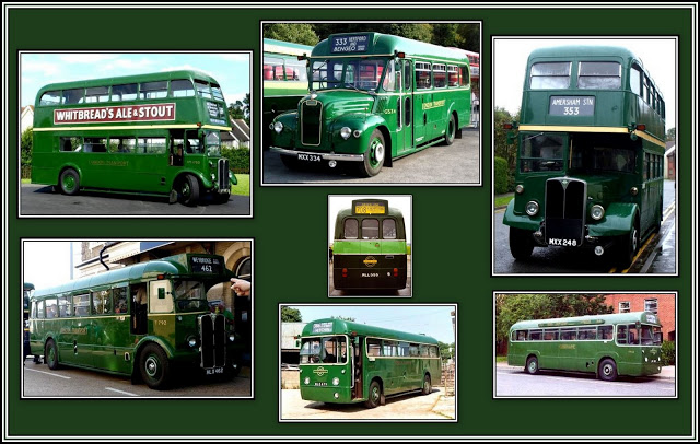 London Country Buses Collage