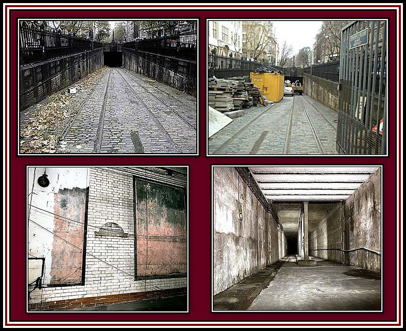 Northern Part of the Tunnel Collage