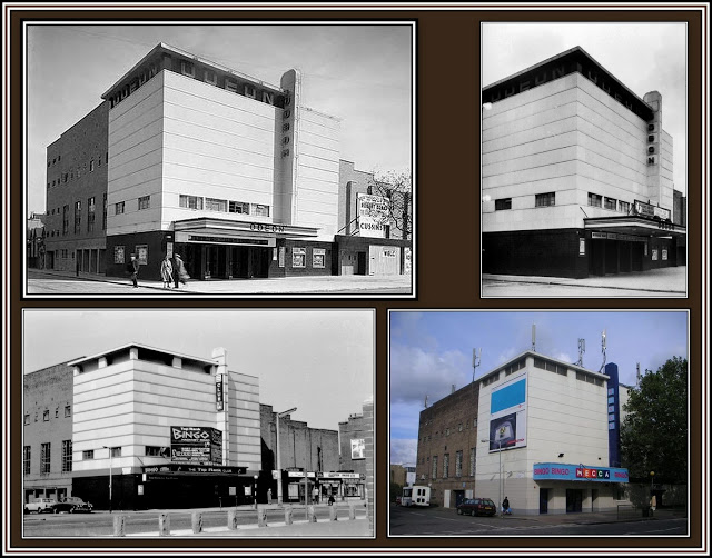 Odeon Hackney Road Through the Years Collage