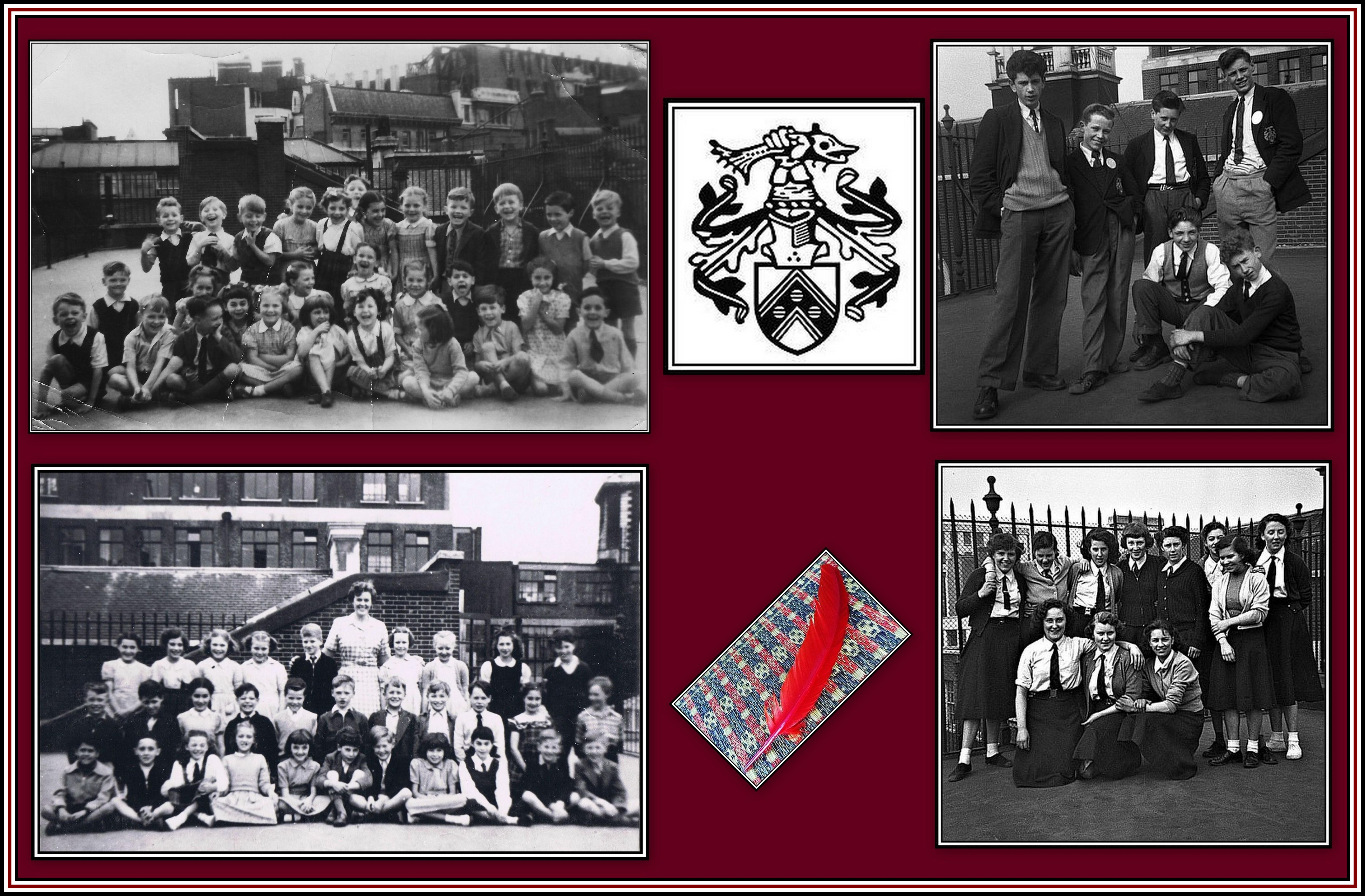 Past Students Collage