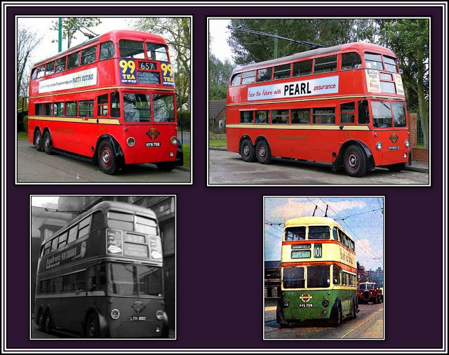 The Rolls-Royce of Trolleybuses Collage - 1