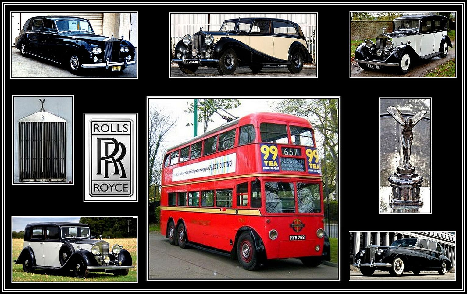 The Rolls-Royce of Trolleybuses Collage