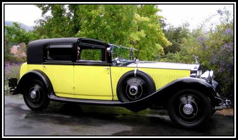 The Yellow Rolls Royce