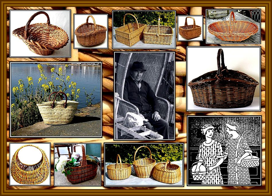 Baskets Collage