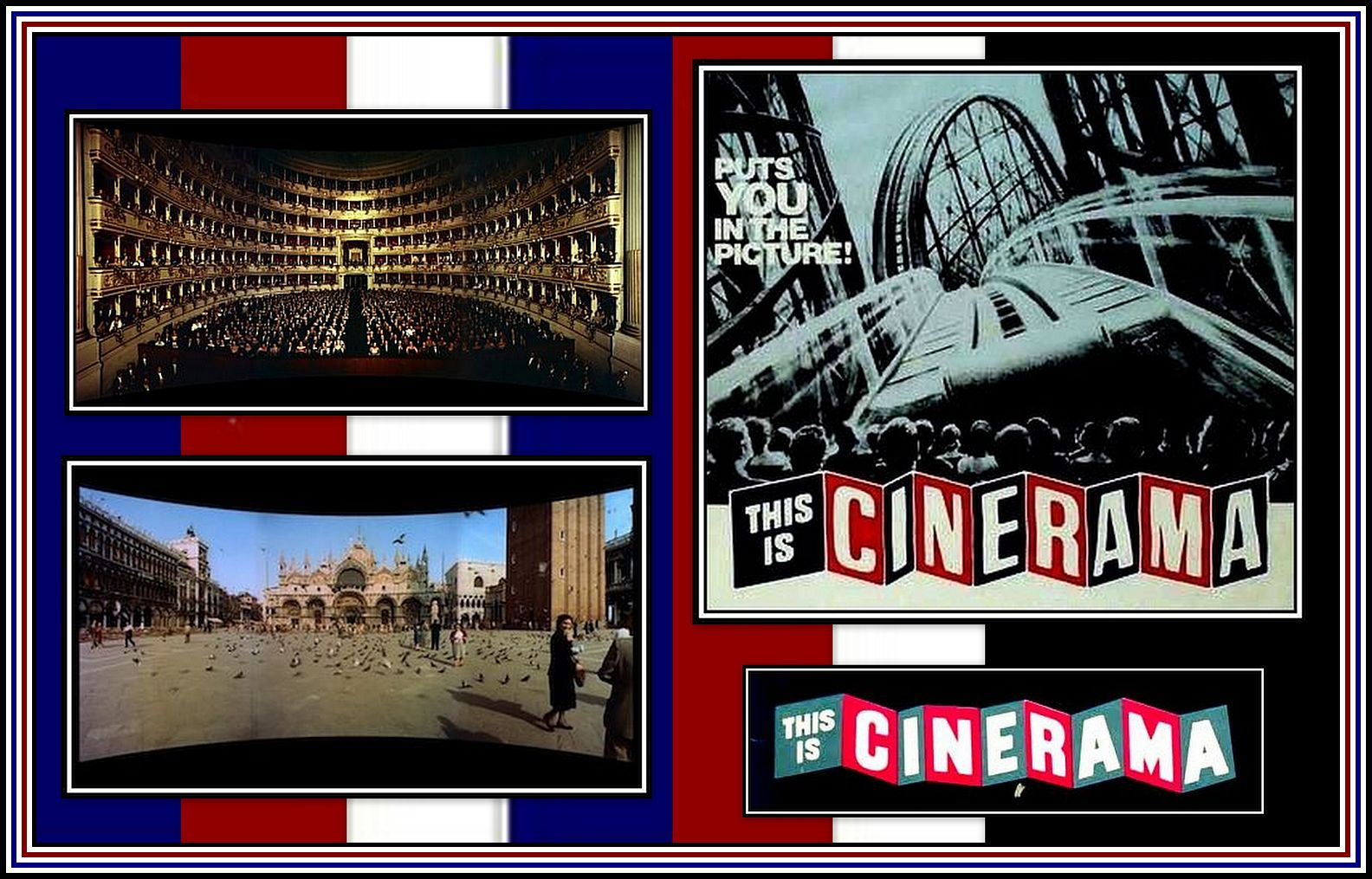 Cinerama Collage