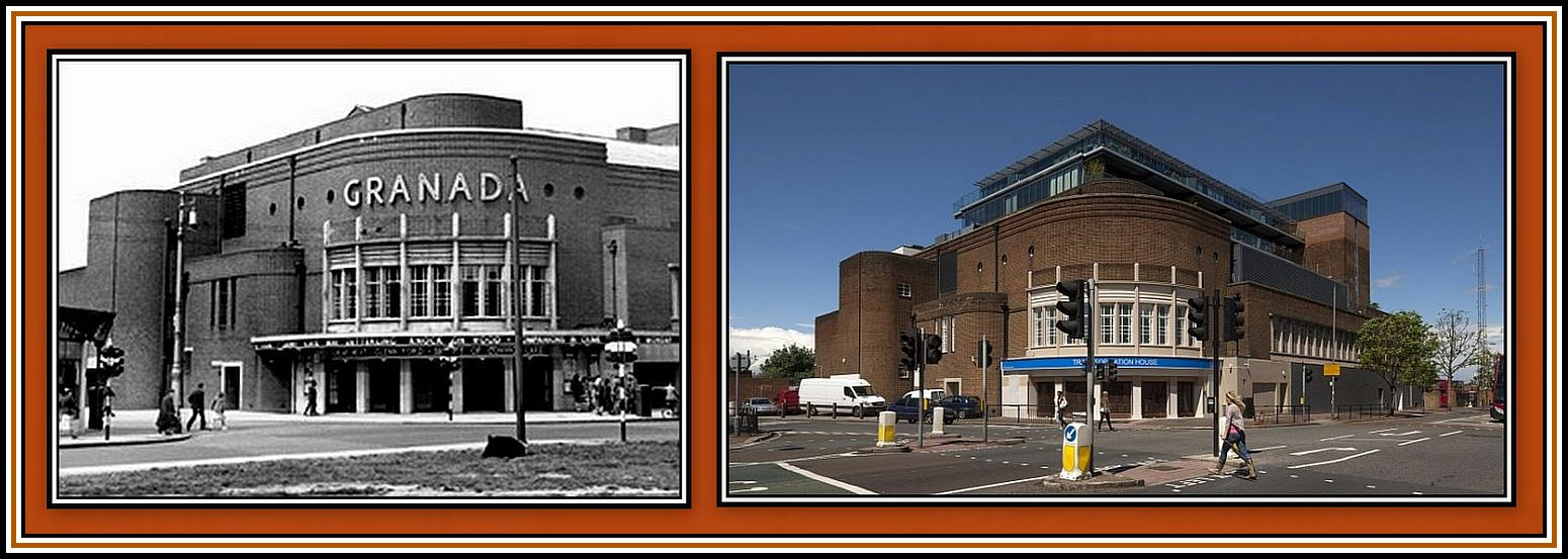 Clapham - then and now - Collage