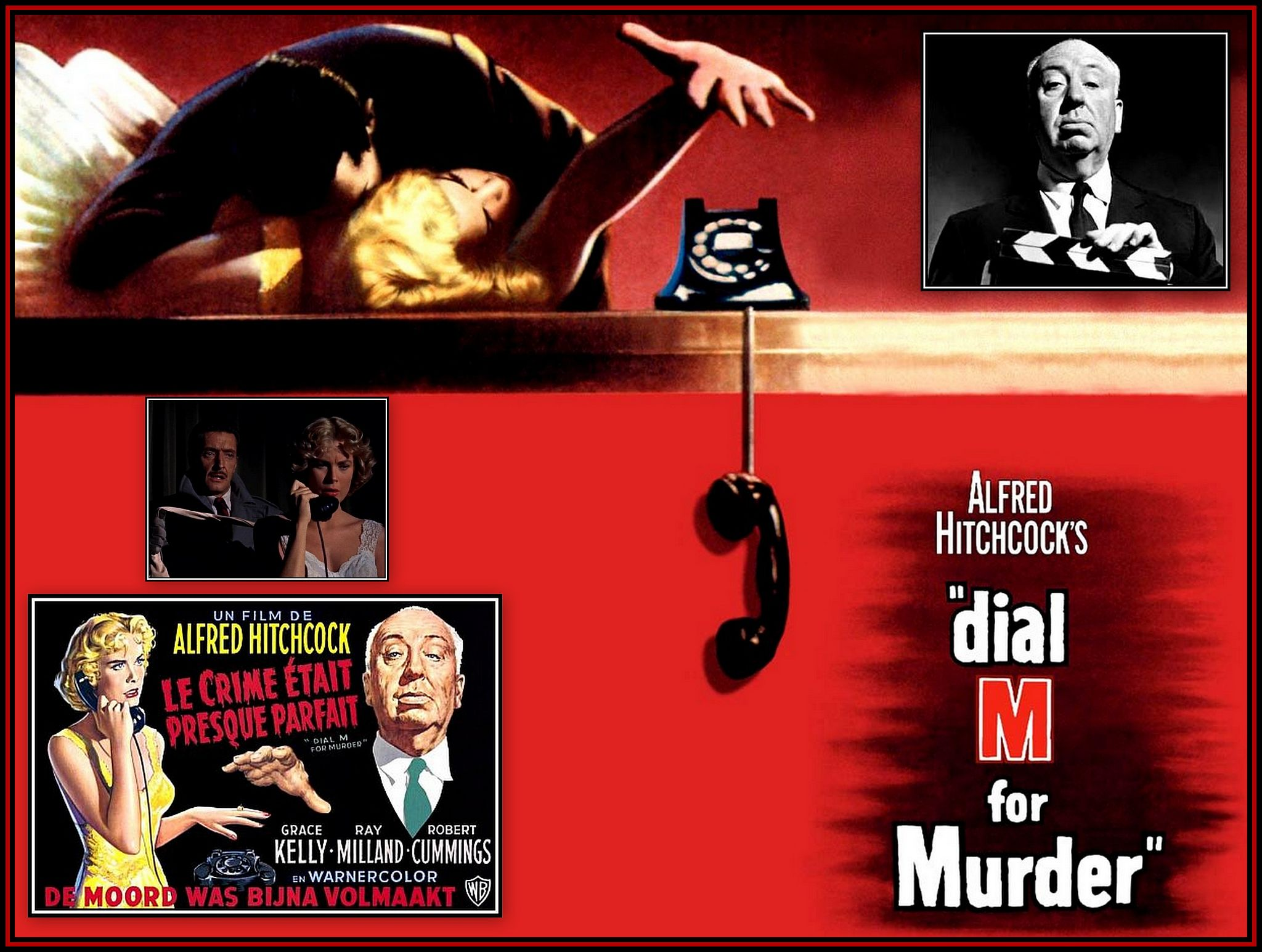 Dail M for Murder Collage