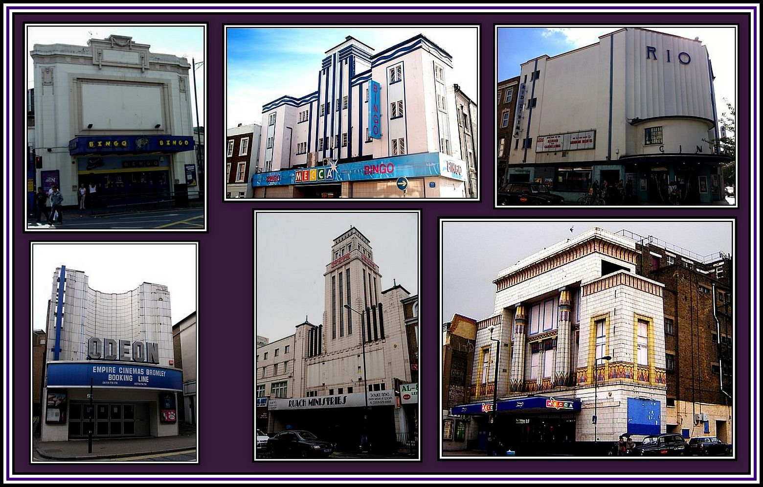 George Coles' Cinemas Collage