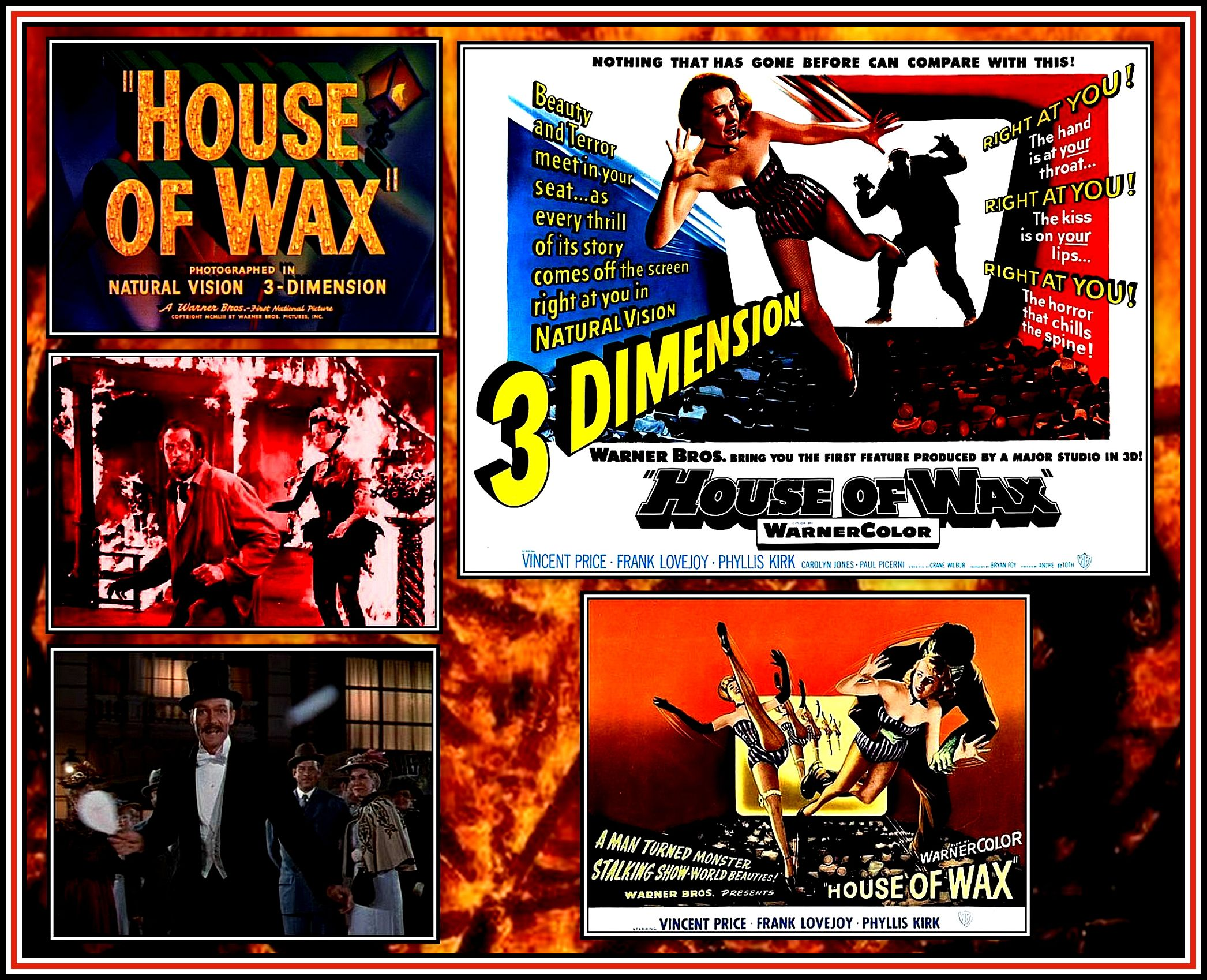 House of Wax Collage