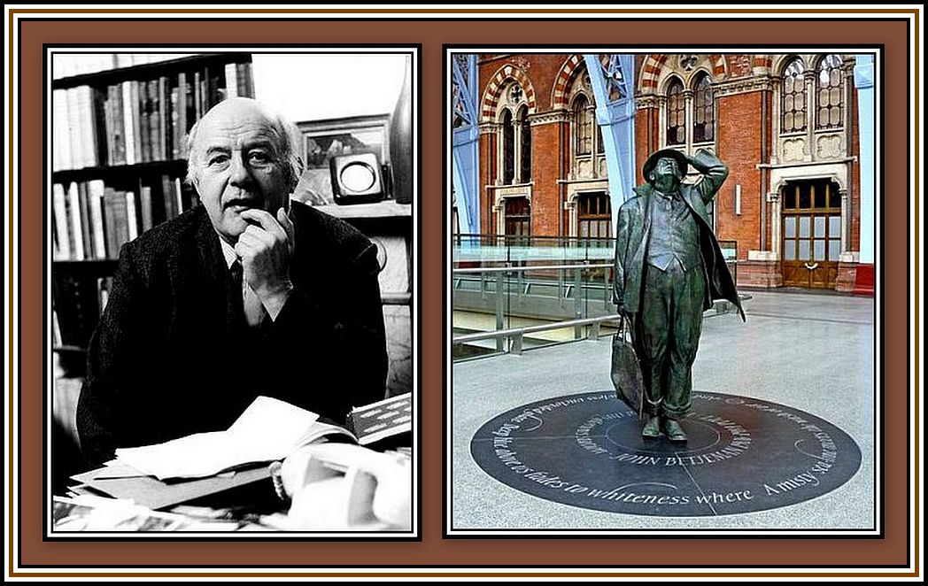 John Betjeman Collage