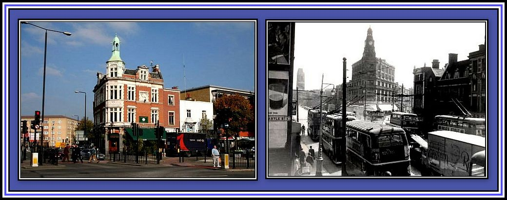 Mile End and Gardner's Collage