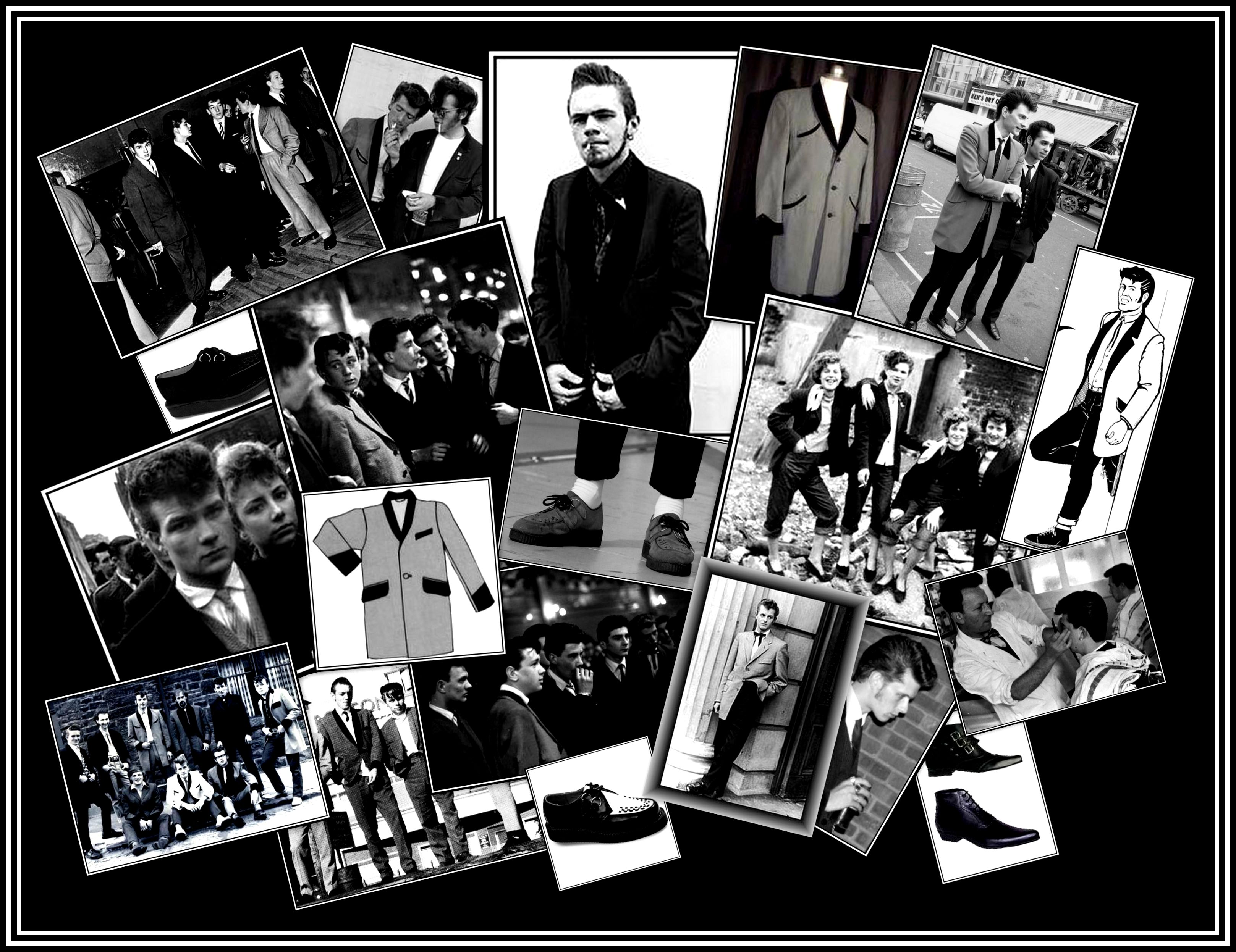 New - Teddy Boys Collage
