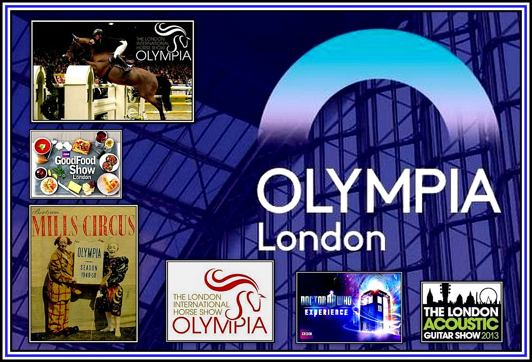 Olympia Events Collage