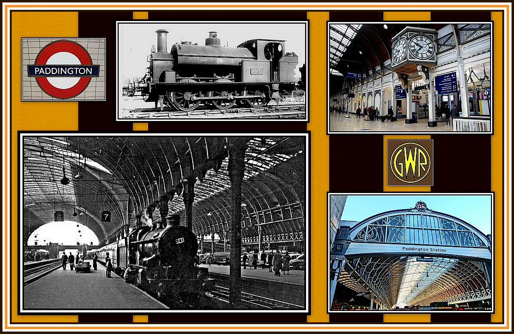 Paddington Station Collage