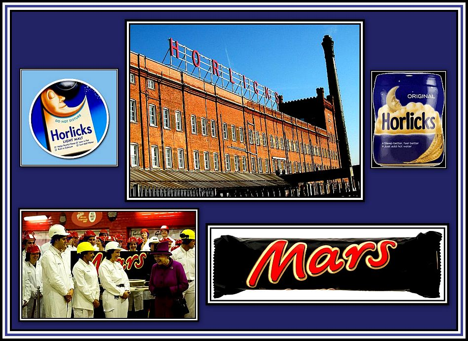 Queen Marks Horlicks Collage