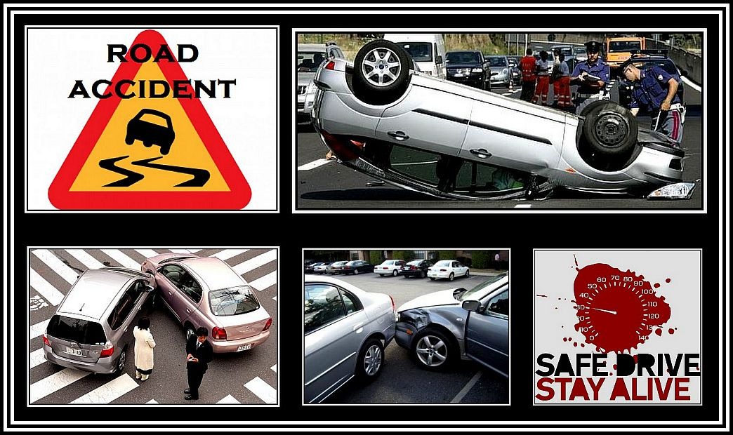 Road Accidents Collage