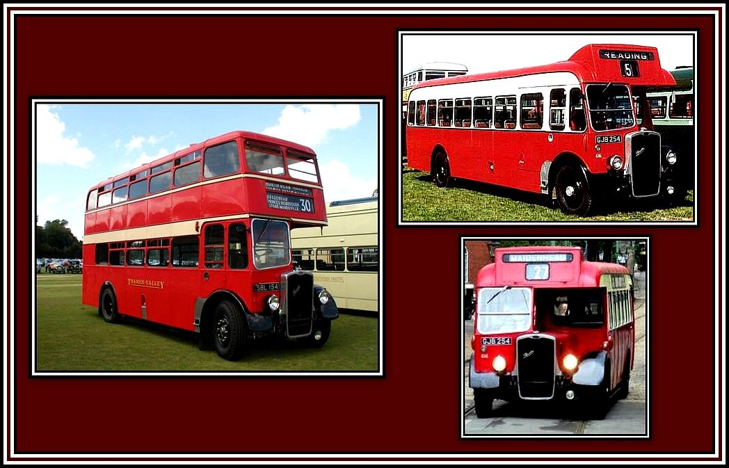 Thames Valley Buses Collage