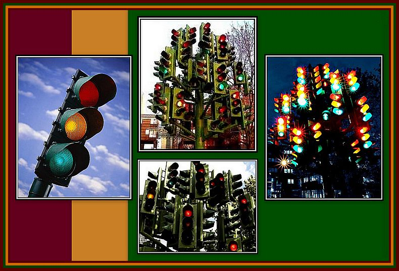 Traffic Lights Collage