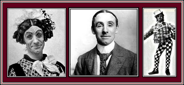 Dan Leno Collage