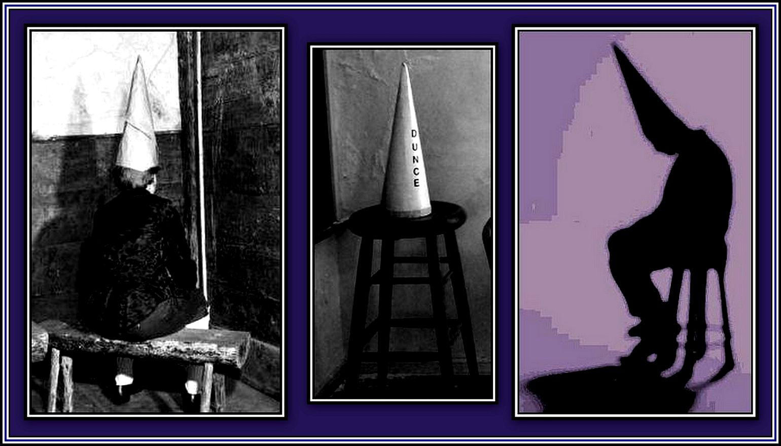Dunce Collage