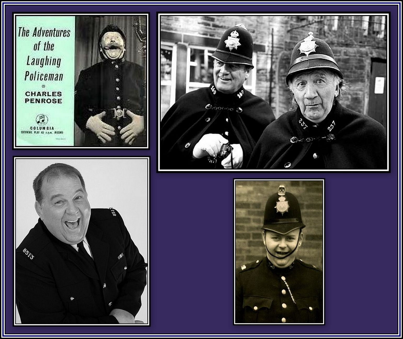 Laughing Policemen Collage