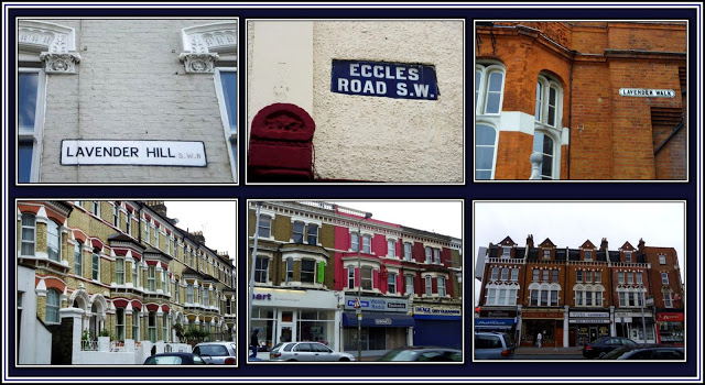 Lavender Hill Area Collage