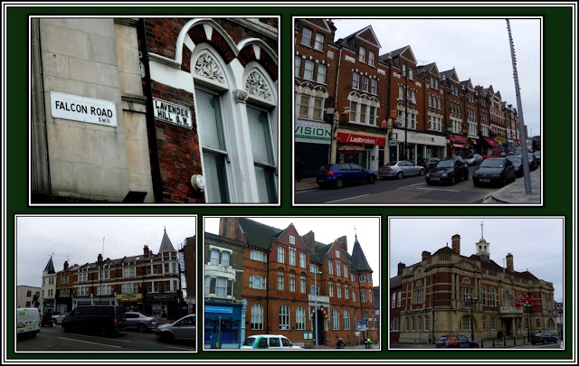 Lavender Hill Collage
