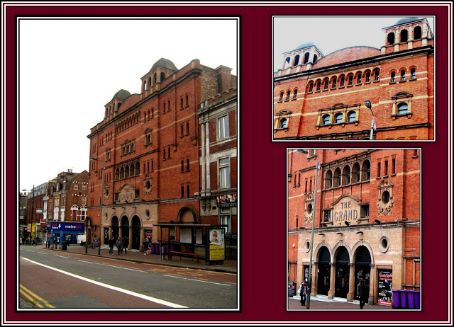 The Grand Theatre Collage