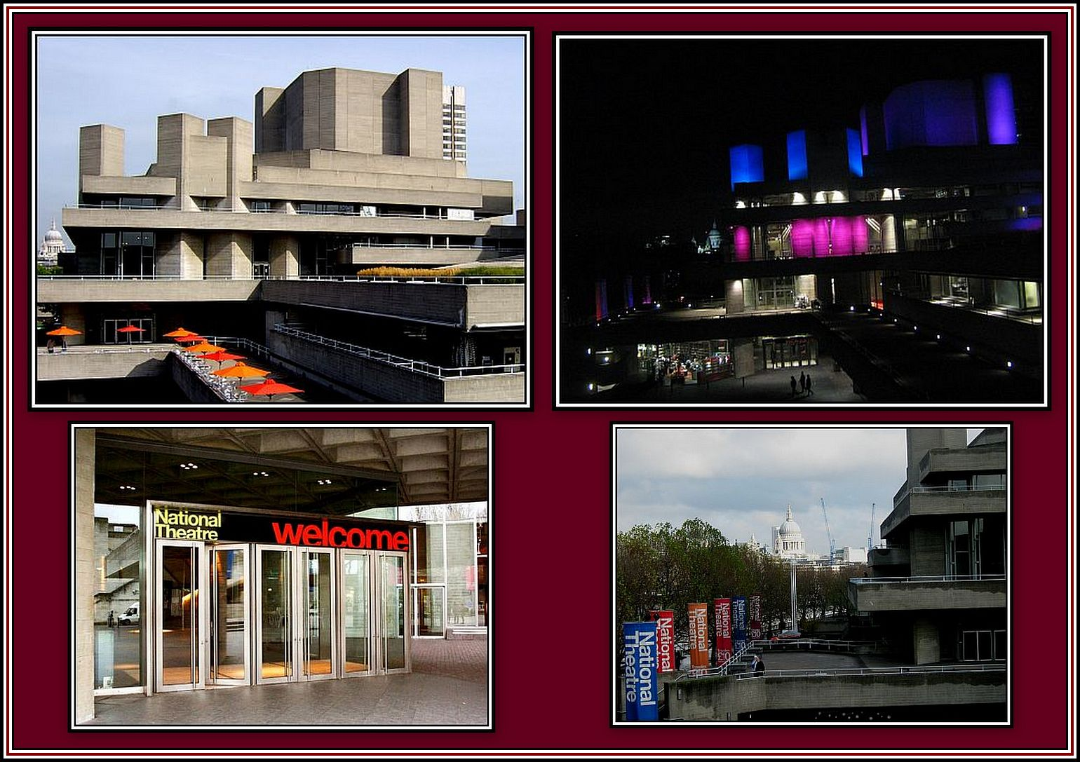 The National Theatre Collage