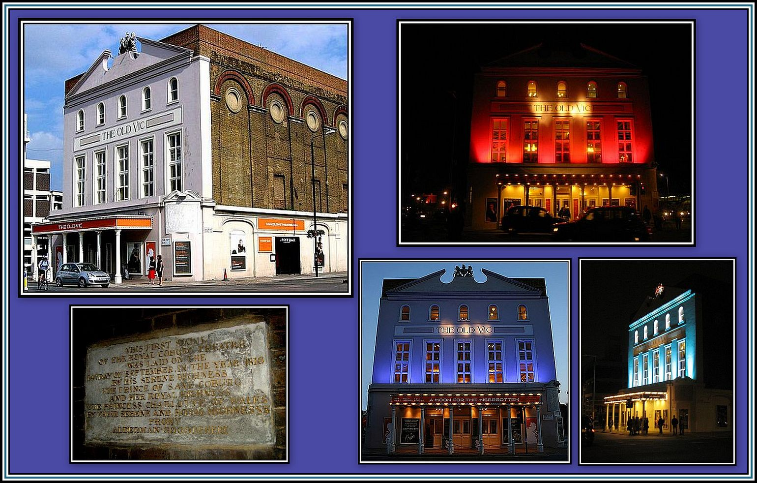 The Old Vic Collage