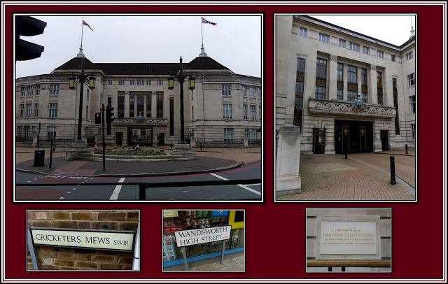 Wandsworth Town Hall Collage - 1