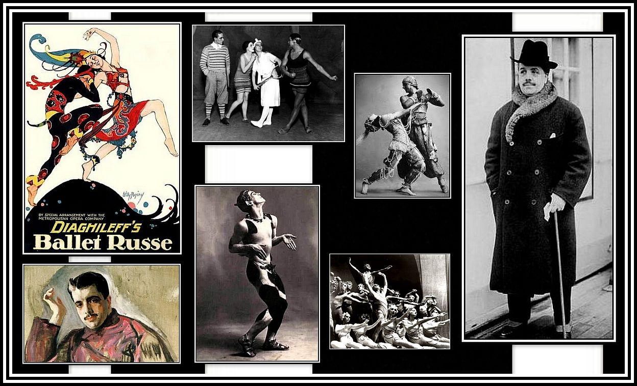 Ballet Russe Collage