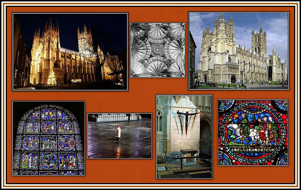 Canterbury Cathedral Collage