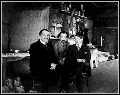 Degalav, Polunin and Picasso in the Covent Garden studio