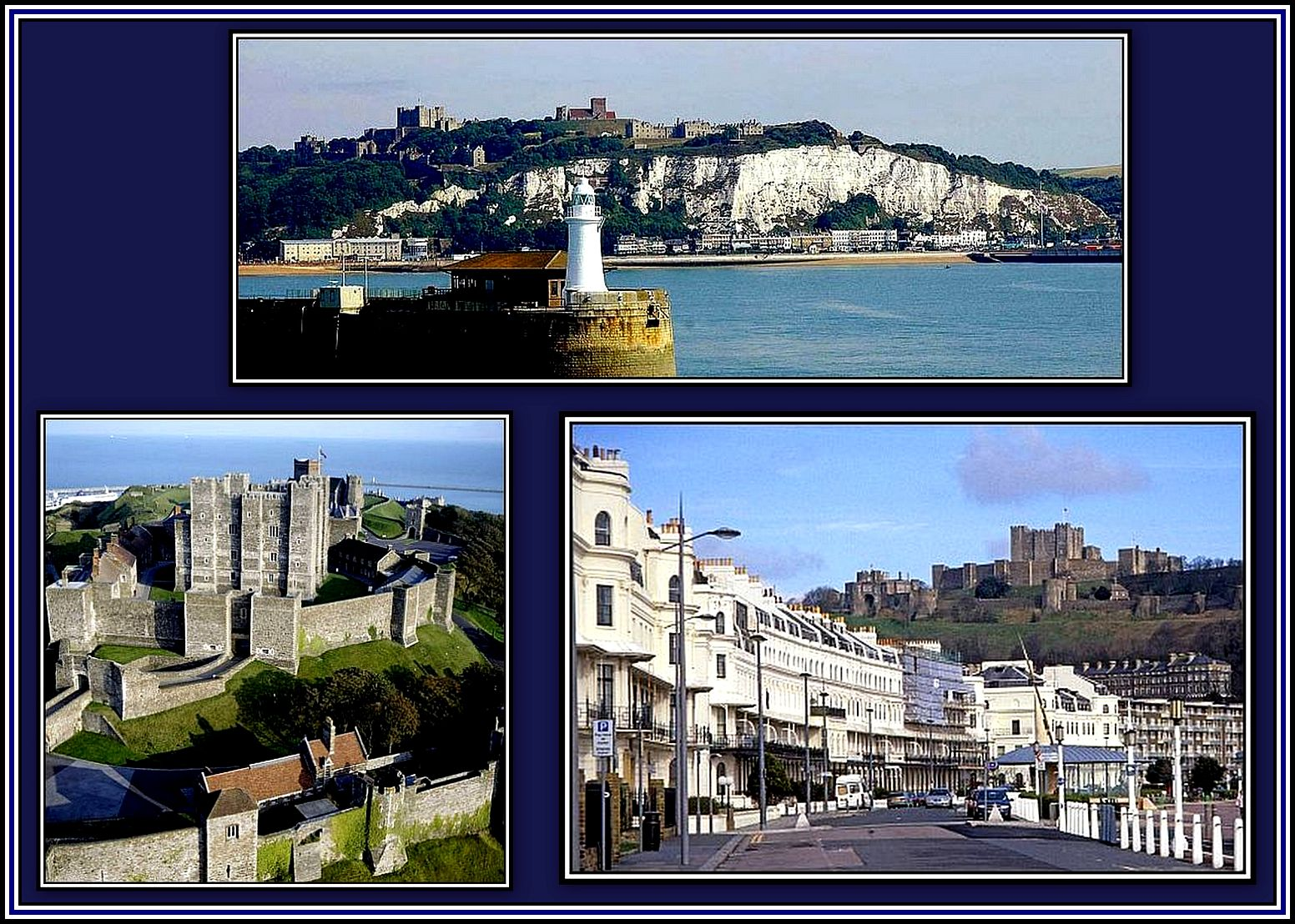 Dover Castle Collage