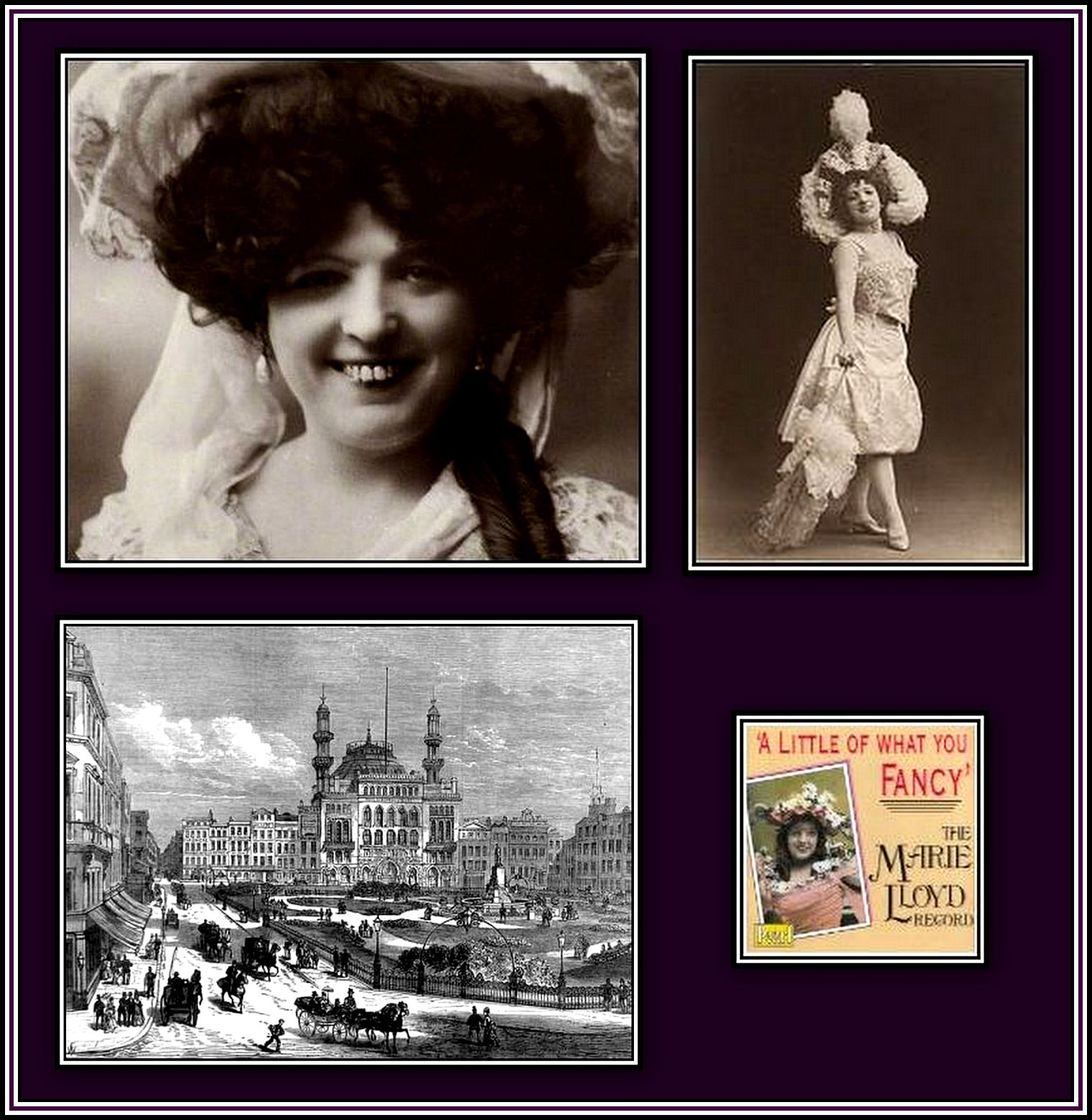 Marie Lloyd Collage