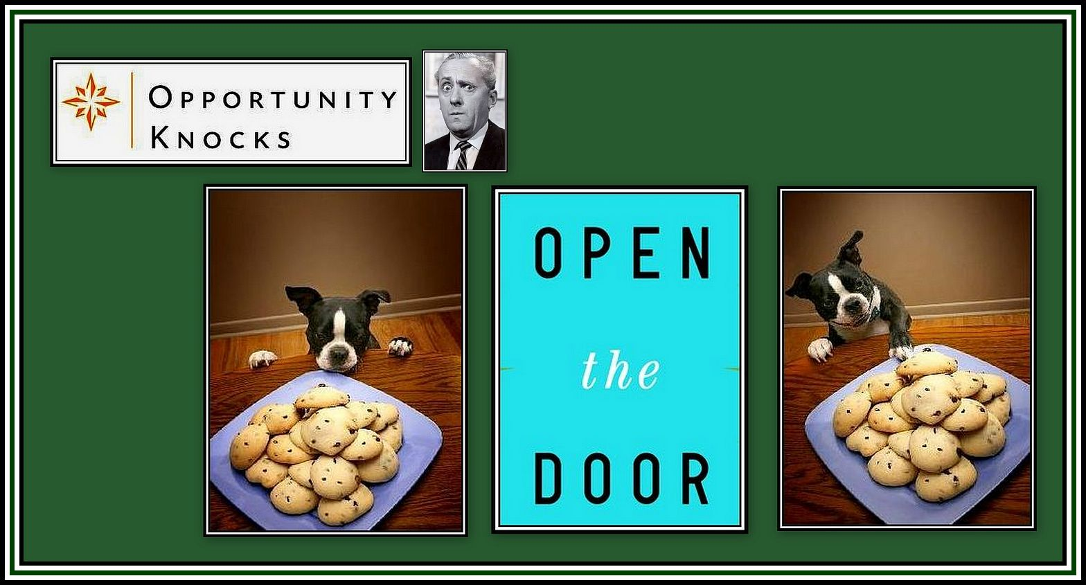 Opportunity Knocks Collage