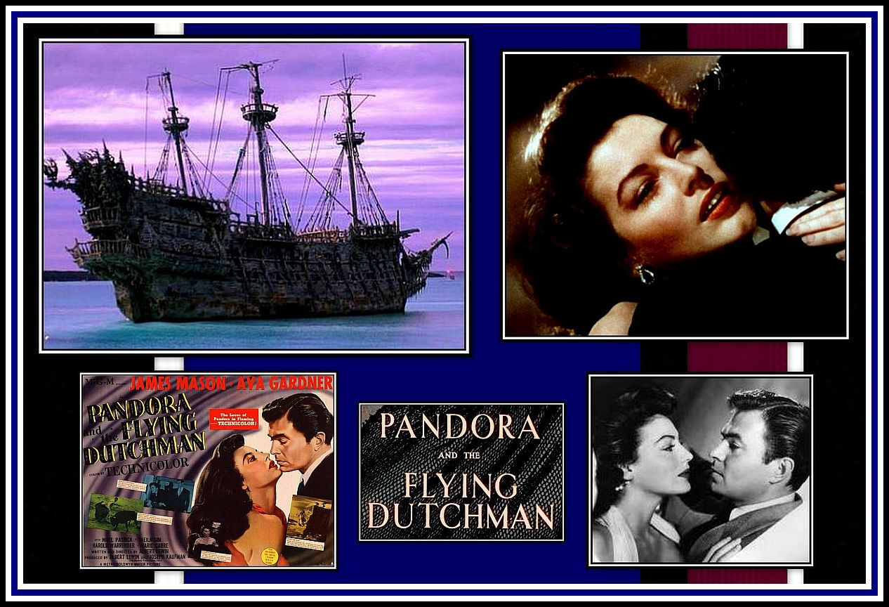 Pandora and the Flying Dutchman Collage