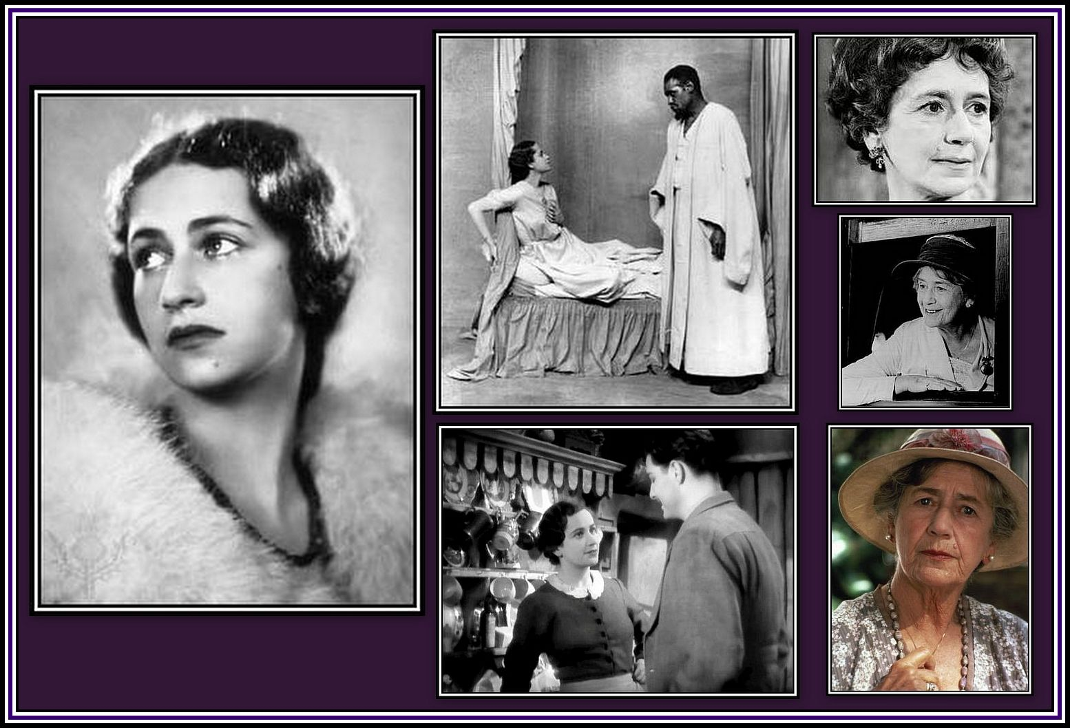 Peggy Ashcroft Collage
